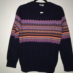 Festive GAP Pattern Crewneck Sweater NWT 🎁